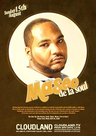 Maseo De la Soul Cloudland